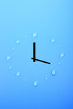 Time and water Royalty Free Stock Image