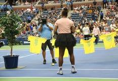 23-time wielkiego szlema mistrz Serena Williams uczestniczy przy Arthur Ashe dzieciaków dniem przed 2018 us open zdjęcie stock
