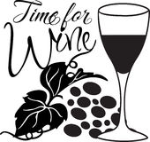 Time for Wine Royalty Free Stock Image