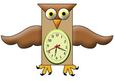 Time wings Stock Photography