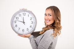 Time for work stock image