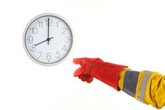 Time for work concept Stock Photo