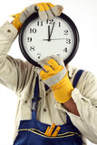 Time for work concept Stock Image