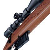 Time worn rifle Royalty Free Stock Photo