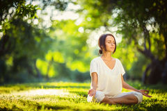 Time for yoga Stock Image