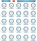 Time Zone - 4 Stock Photo
