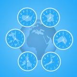 Time zones Stock Photos
