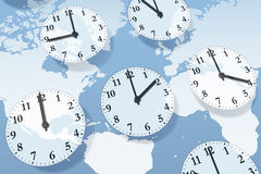Time Zones Royalty Free Stock Photos