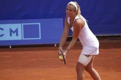 Timea Bacsinszky in WTA Prague tournament Stock Photos