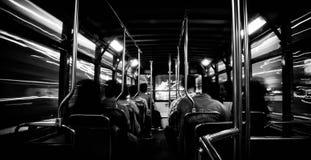 Timechine buss Royaltyfri Fotografi
