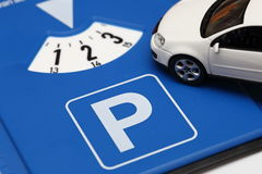 Timed parking concept Stock Image
