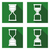 Timeglass icon_Timeglass ikony 4 Obrazy Stock
