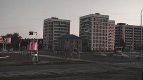 Timelaps пересечения Стоковое Фото