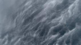 Timelaps för molnig himmel arkivfilmer
