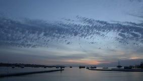Timelaps of sunrise at Naama Bay stock footage