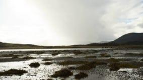 TIMELAPSE到来雨海湾苏格兰4K 股票视频