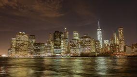timelapse的曼哈顿 股票视频