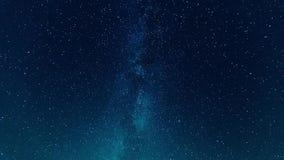 Timelapse étoilé de ciel de nuit clips vidéos