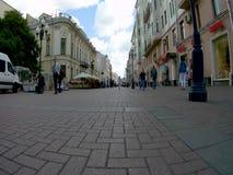 Timelapse στην οδό Arbat στη Μόσχα φιλμ μικρού μήκους