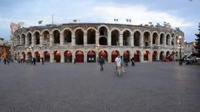Timelapse στο χώρο της Βερόνα, Ιταλία απόθεμα βίντεο