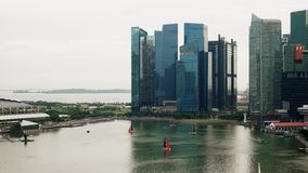 Timelapse του μέρους λοταριών στη Σιγκαπούρη φιλμ μικρού μήκους