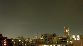 Timelapse του λυκόφατος του Τόκιο απόθεμα βίντεο