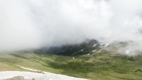 Timelapse, δύσκολο εθνικό πάρκο βουνών, Κολοράντο απόθεμα βίντεο