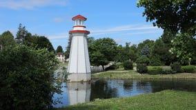 Timelapse на парке Веллингтона в Simcoe, Онтарио 4K видеоматериал