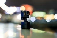 Timelapse стрельбы на камере действия в Лондоне Стоковое Изображение RF