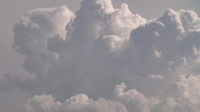 Timelapse -夏天积雨云 影视素材