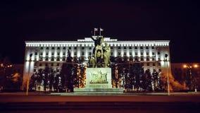 Timelapse 罗斯托夫On唐的管理在市中心在对战士的纪念碑附近 股票录像