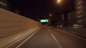 Timelapse -逆时针大城市高速公路圈子轨道 影视素材