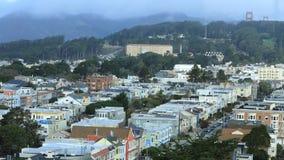 Timelapse aéreo de San Francisco, Califórnia 4K vídeos de arquivo