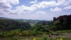 Timelapse Ambert,亚美尼亚 古老基督徒堡垒 股票视频