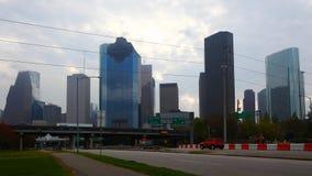 Timelapse ancho horizonte 4K de la Houston, Tejas metrajes