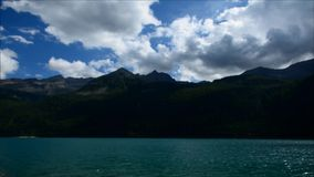 Timelapse av den västra sjön i Ceresoloe Italien