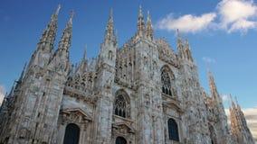 Timelapse Bóveda de la catedral de Milán - Italia