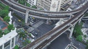 Timelapse Bangkok ruch drogowy zbiory wideo