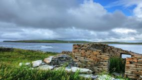A timelapse of the Bay Of Skaill, Orkney, Scotland stock video