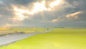 Timelapse The beauty of the farmland in Taitung Taiwan stock video footage