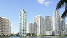 Timelapse Brickell Miami stock footage