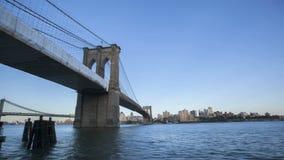 Timelapse Brooklyn bro arkivfilmer