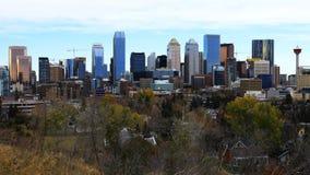 Timelapse Calgary, Alberta linia horyzontu 4K zbiory wideo