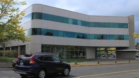 Timelapse centrum administracyjno-kulturalne w Gresham Oregon 4K zbiory