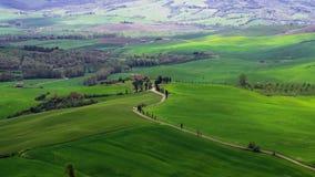 Timelapse Chianti wzgórza w Tuscany zbiory