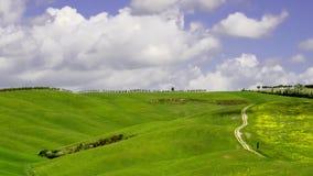 Timelapse Chianti wzgórza w Tuscany zdjęcie wideo