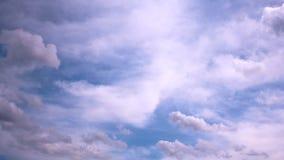 Timelapse chmury zbiory wideo