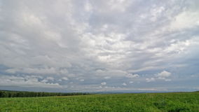 Timelapse chmury, PEŁNY HD zbiory wideo