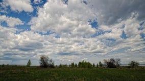 Timelapse chmury, PEŁNY HD zbiory