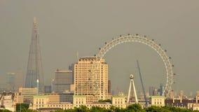 Μάτι του Λονδίνου timelapse cinemagraph απόθεμα βίντεο